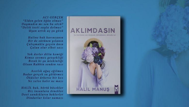 Edebiyat Kulisi Yazarı Halil Manuş'un Yeni Kitabı çıktı
