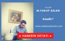 Mehmet Yakup Aslan-Zamansız Gemiler Ropörtaj